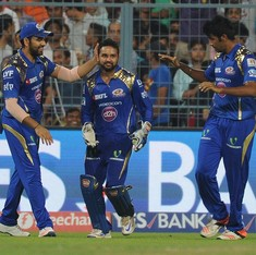 IPL: Rohit Sharma helps Mumbai Indians chase down 188 against Kolkata Knight Riders
