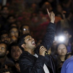 Two arrested for death threat issued to JNU student activists Kanhaiya Kumar and Umar Khalid