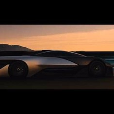 You could be driving this futuristic 1,000-horsepower electric car that looks straight out of a Batman movie