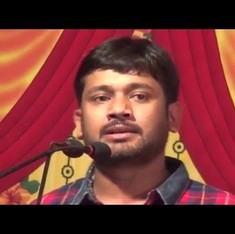 Watch: Kanhaiya Kumar keeps up the tirade,  this time taking on the ABVP and its leaders