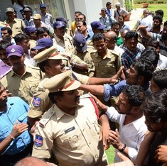Bail granted to 27 Hyderabad University students and faculty arrested last week