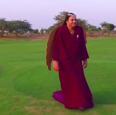 He's truly our angel: Why we shouldn't laugh at Taher Shah