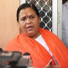 Uma Bharti says she is ready to go to jail for a Ram temple in Ayodhya