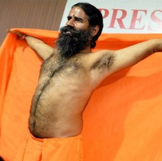 Watch Ramdev admit India's laws prevent him from beheading 'lakhs' for not saying Bharat Mata ki Jai