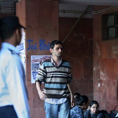 JNU sedition case: Students Umar Khalid, Anirban Bhattacharya surrender to Delhi Police