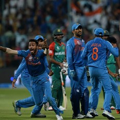 India v Bangladesh: Just how does Mahendra Singh Dhoni do it?