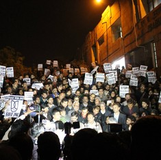 'Stop the witch-hunt': Universities across the country speak out for JNU