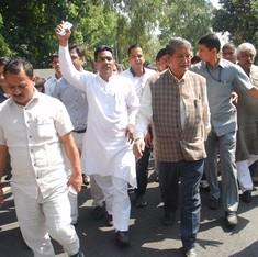 'उत्तराखंड में लोकतंत्र की टांग तोड़ने की कोशिश कर रही भाजपा को दुलत्ती पड़ गई है!'