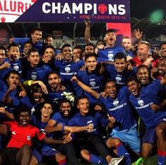 Football: Bengaluru FC crowned 2016 I-League champions despite 0-5 loss to Mohun Bagan