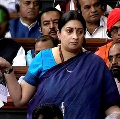 Smriti Irani's speech: 'Why is Scroll against a woman who is fighting with gusto?'