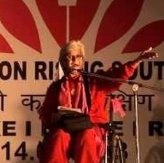'We love it madly, come say it loudly': Watch Kamla Bhasin recite her inspirational poem 'Azaadi'