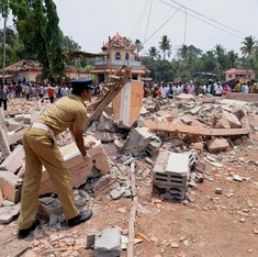 Kerala temple blaze: Six booked, five detained in connection with unauthorised fireworks display