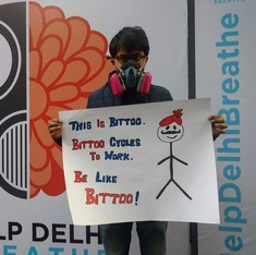 'Help Delhi Breathe': Capital residents rally to demand clean air