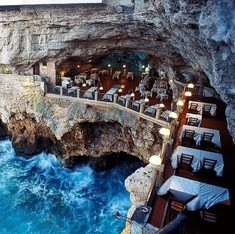 These restaurants are located in places that will make you forget the food on your table