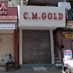 Indian jewellers are so angry at the Budget, they have downed their shutters