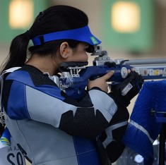 Indian shooter Apurvi Chandela sets world record, clinches gold at Swedish Cup Grand Prix
