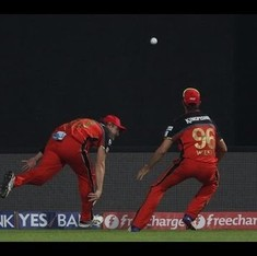 Insane fielding: watch Shane Watson and David Wiese pull off one of the IPL's most stunning catches