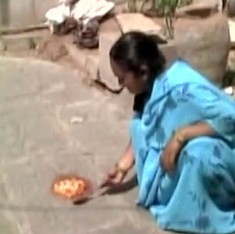 How hot is it in Telangana? Ask the woman cooking eggs on the floor of her home