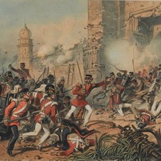 The 1857 fire of revolt failed to singe Punjab, save for Ahmad Khan Kharral's short-lived rebellion