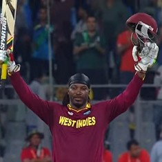 Video: This is what India must stop Chris Gayle from doing in the semi-final