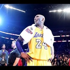 'Mamba Out': Watch NBA legend Kobe Bryant sign off with a stunning farewell
