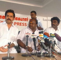 Tamil Nadu elections: DMDK suspends 15 members for asking Vijayakanth to rethink alliance with PWF