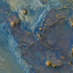 The different shades of Mars: NASA reveals new images of the Red Planet