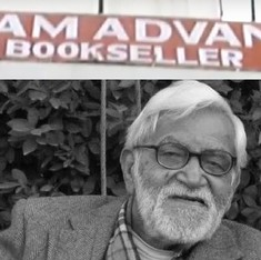 Ram Advani's bookshop was a reminder of the courtesy and civility of Lucknow as it once used to be