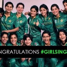 Pakistan beat India in Delhi, but on Twitter, it was a win for women's cricket