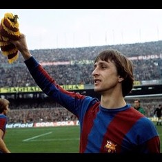 Watch: the football we marvel at today is the legacy of Dutch legend Johan Cruyff