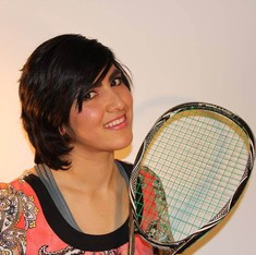 Before becoming Pakistan's top squash player, she masqueraded as a boy to evade the Taliban