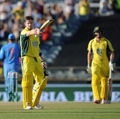 1st ODI: Australia ride on Steven Smith, George Bailey tons to chase India's 309 with ease