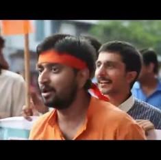Watch: Unbelievable but true, ABVP-BJP rally in Kolkata raises slogans demanding 'azaadi'