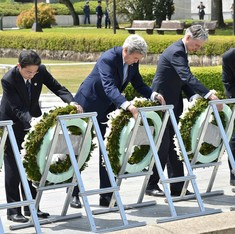 Hiroshima Declaration: G7 leaders call for 'world without nuclear weapons'