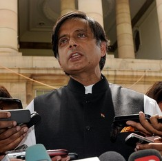 Shashi Tharoor says Centre's 'over-reaction' has helped question the idea of nationalism