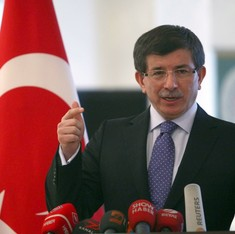 Russia acts like a terrorist organisation in Syria, says Turkish PM
