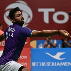 HS Prannoy's Swiss title defence begins with borrowed racquets as airline misplaces his kitbag