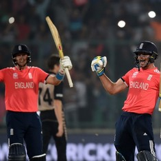 World Twenty20: England enter final after comprehensive seven-wicket win over New Zealand