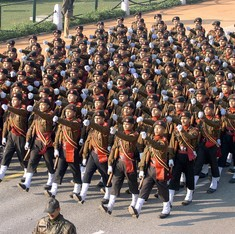 Assam Rifles inducts first batch of 100 women officers