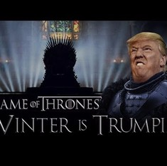 Donald Trump joins the cast of 'Game of Thrones'. Not really, but this clever edit shows how he'd fit right in