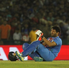 Yuvraj Singh ruled out of World Twenty20 because of ankle injury