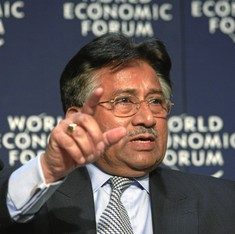 Asif Ali Zardari was behind his wife Benazir Bhutto's assassination, claims Pervez Musharraf