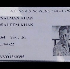 Hyderabad man tries to vote using ID card with Salman Khan's photo