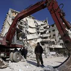 At least 135 dead in the week since the Syria truce came into effect