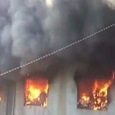 Fire in Bhiwandi building brought under control, all those trapped rescued