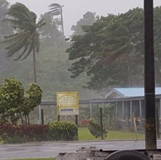 Fiji braces for impact as Cyclone Winston approaches its shores
