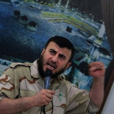 Top Syrian rebel leader killed in airstrike in Damascus