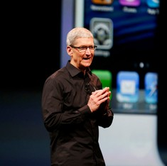 Tim Cook's salary slashed by 15% after Apple misses revenue target in 2016