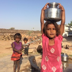 In pictures: Children take more responsibility than men in Bundelkhand