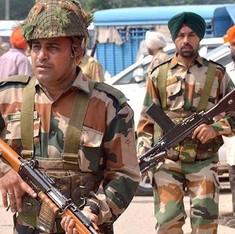 होली पर हमले के मकसद से एक पूर्व पाक सैनिक छह आतंकियों के साथ भारत में घुसा